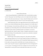Rebekah Butler, Philosophy paper compare and contrast.docx