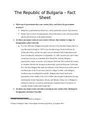 The Republic of Bulgaria fact sheet.docx