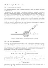 Lecture 12 on Scattering in three dimensions