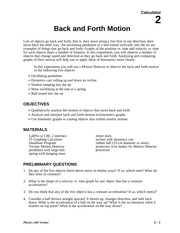 02 Back and Forth Motion