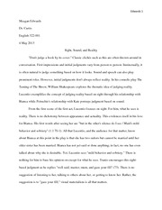 Comedy Paper- Taming of the Shrew