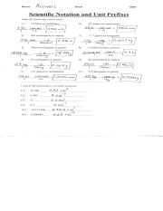 scientific notation and unit prefixes.pdf - Name ADSWBFS ...