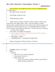 NS class notes 1