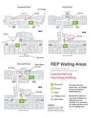 REP Waiting Area map