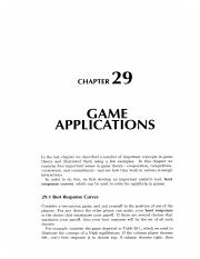 29 Game Application