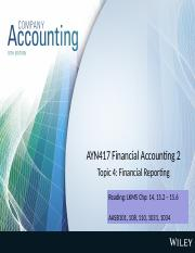 Lecture 4 Financial reporting(4)