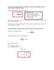 04 The root mean speed and  average kinetic energy from the Kinetic Molecular Theory.pdf
