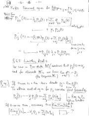 Lecture Notes H on Applied Probability