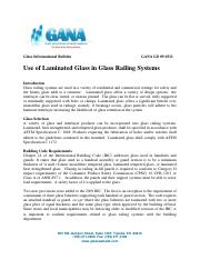 LD 09-0311 - Use of Laminated Glass in Glass Railing Systems.pdf
