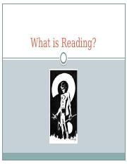 What is Reading.pptx
