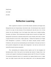Examples Thesis Statements Essays  College Vs High School Essay Compare And Contrast also Essay Style Paper Gsc   Operations And Supply Chain Management  Wayne  How To Write An Essay High School
