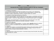 PDF Role Play Rubric (SECONDARY)