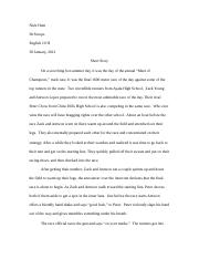 Stoops short story final