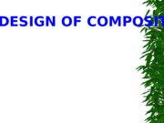 The Design of Composite structures-STU