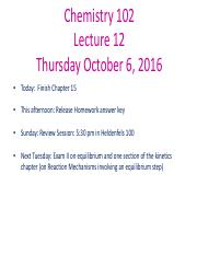 Chem 102 Lectures 12 2016