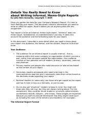 Details You Really Need to Know_Writing Informal, Memo-Style Reports.doc