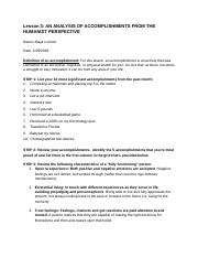 L3_ Assignment - Humanist View Self Observation - Template.docx