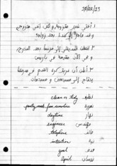 Arabic Notes 102213