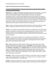 Microbiology Study Guide - Ch. 8.docx