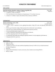 york template resume