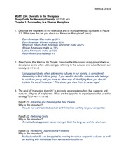 Ch 1 Study Guide