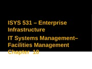 03-IT Systems Management - Chp 18