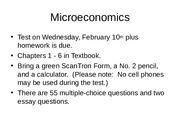 Micro 1st Test--Essay Questions 2016.ppt