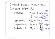 Lecture 4: Circuit Laws