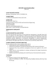 CCE 529_Lean Construction_Course Syllabus_Revised 0413