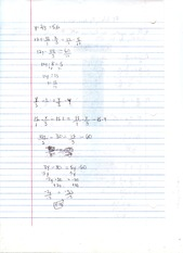 MATH 0309 SOLVING EQUATIONS WITH FRACTIONS NOTES