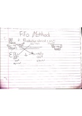 managerial accounting- fifo method