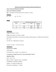Assay of the ferrous sulphate tablets Lab Report 3.docx
