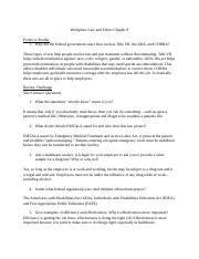 Medical Laws and Ethics chapter 8