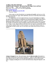 ART HIS 40A_Syllabus_Ancient Art  Architecture_Fall 2014.doc