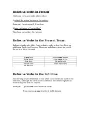 Reflexive Verbs in French.doc