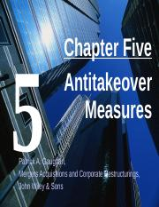 Ch 5 Antitakeover Measures