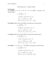 HW5 Solutions