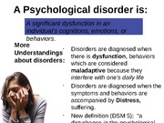 14 - Myers Psychological Disorders Blanks