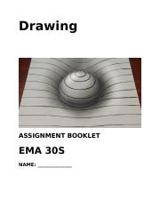 Drawing Assignment Booklet