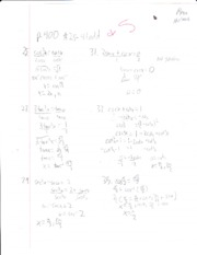 Yosemite High School Math! P3