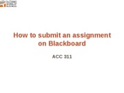 How to submit PPT