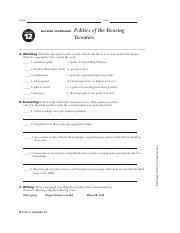 Chapter 12 Worksheet .pdf - Name CHAPTER Date BUILDING ...