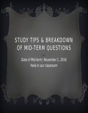 Study+Tips+_+Breakdown+of+Mid-Term+Questions+-+Copy.pptx