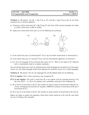 Computer Science 172 - Fall 2000 - Henzinger - Midterm 1