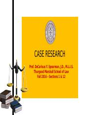 5 Case Research 2016update