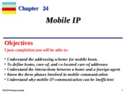 Chap-24 Mobile IP