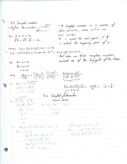Complex numbers and rational functions notes