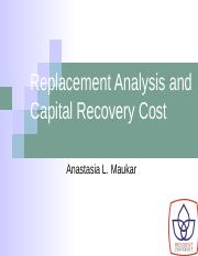12_Replacement Analysis