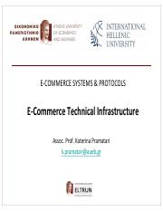 eCommerce-Pramatari-Session 2-Technical Infrastructure