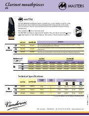 MASTERS Bb clarinet mouthpieces.pdf